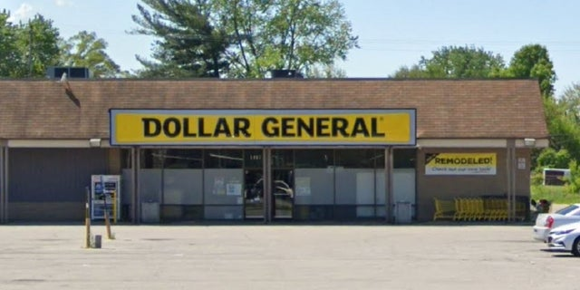 A Dollar General store in Columbus, Ohio. At least one person was reportedly killed and several others were injured Friday in a shooting outside the store.