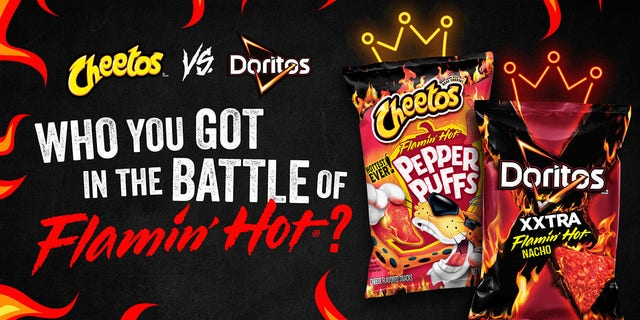 The two brands, which are both owned by Frito-Lay, are letting fans chose which chip is the best.