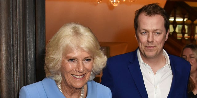Camilla, Duchess of Cornwall and her son Tom Parker Bowles.
