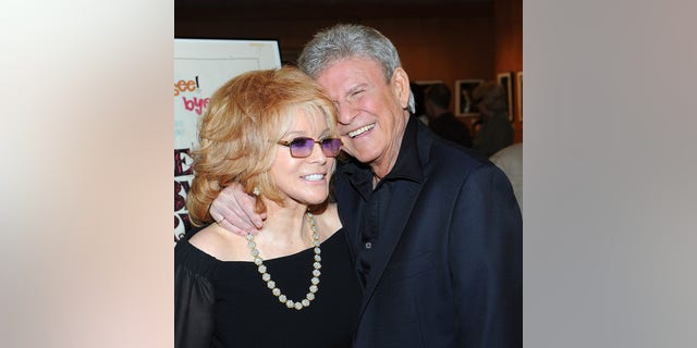 Actress Ann-Margaret (L) and actor Bobby Rydell attend the Academy of Motion Pictures Arts and Sciences screening of the newly restored, 'Bye Bye Birdie' at the AMPAS Theatre on April 27, 2011, in Beverly Hills, California.