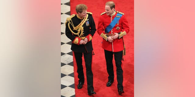 Prince Harry served as the best man for Prince William's wedding.