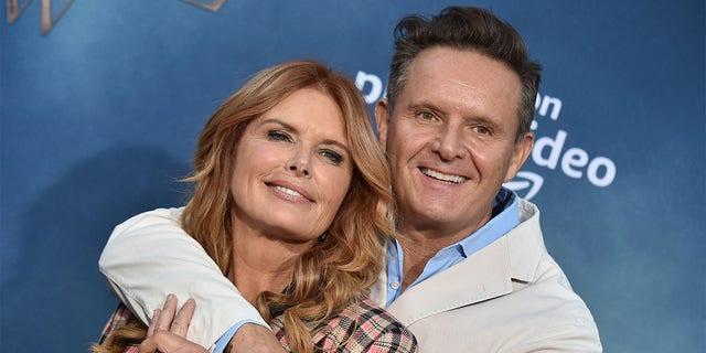 Roma Downey and husband Mark Burnett.