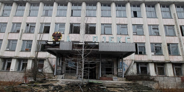 A view of an abandoned city of Pripyat in Chernobyl, Ukraine, on 25 December, 2019. The Chernobyl disaster on the Chernobyl nuclear power plant occurred on April 26, 1986. (Photo by STR/NurPhoto via Getty Images)