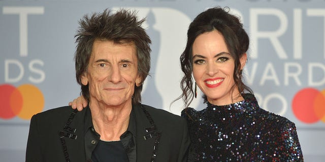 Ronnie Wood and Sally Humphreys tied the knot in 2012.