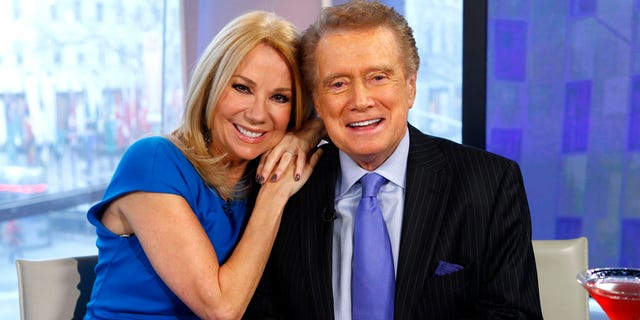 Kathie Lee Gifford and the late Regis Philbin were co-hosts for years.(Photo by: Peter Kramer/NBC/NBCU Photo Bank via Getty Images)