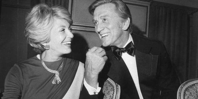 Kirk Douglas and wife Anne in town for the Opera opening, September 10, 1976. (Photo by Vince Maggiora/San Francisco Chronicle via Getty Images)