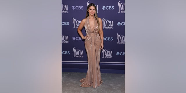Maren Morris attends the 56th Academy of Country Music Awards at the Grand Ole Opry on April 18, 2021, in Nashville, Tenn. (Photo by John Shearer/ACMA2021/Getty Images for ACM)