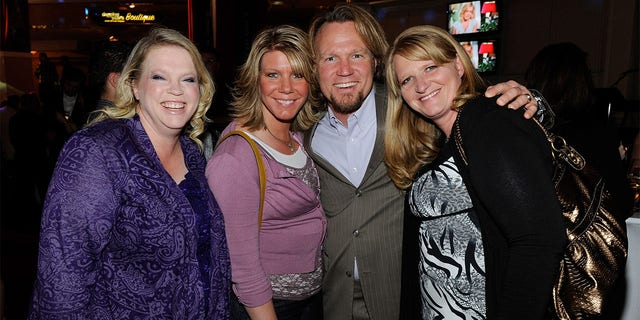 Kody Brown (center) may be facing some martial woes with his plural wives.