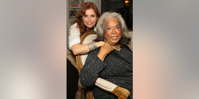 Actresses Loma Downey and Della Reese circa 2013.