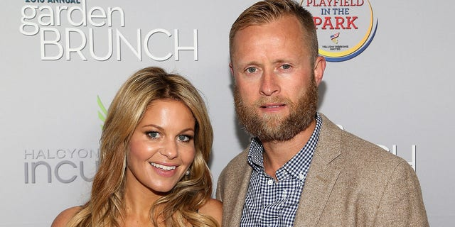 Actress Candace Cameron-Bure (L) and her husband, Valeri Bure, share three children together.
