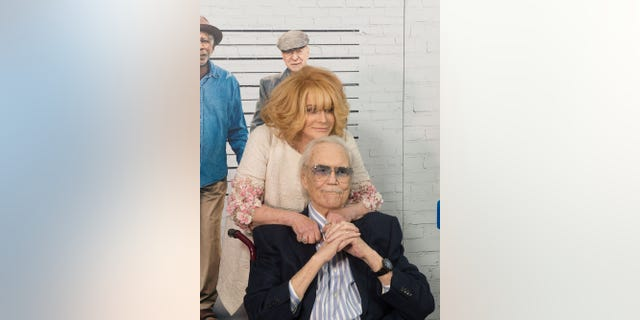 Ann-Margret and her husband Roger Smith in 2017.
