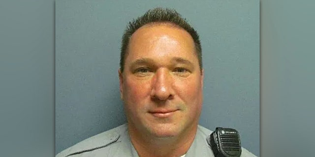 Delmar Police Corporal Keith Heacook, 54, was declared clinically deceased at 12:48 p.m. Wednesday.