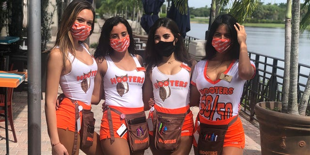 Madison Novo currently works at the Weston Hooters location.