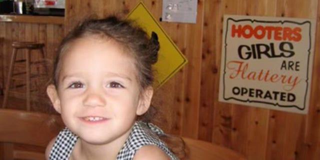 Madison Novo as a little girl.