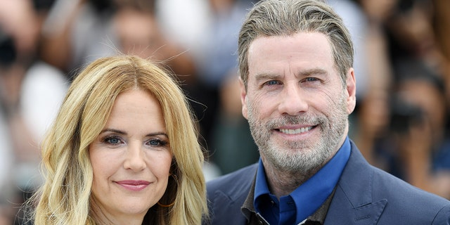 John Travolta opened up about his thoughts on mourning following the death of his wife, Kelly Preston. (Photo by Pascal Le Segretain/Getty Images)