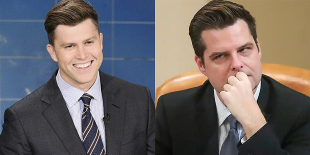 Colin Jost skewered Matt Gaetz over his recent controversy on 'Weekend Update.'