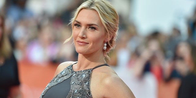 Kate Winslet's daughter, Mia, is also an actress and uses the last name Threapleton. (Photo by Mike Windle/Getty Images)