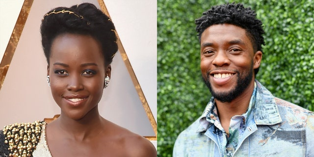 Lupita Nyong'o said that 'Black Panther II' 'very much honors' Chadwick Boseman, the late star of the original film. (盖蒂图片社)