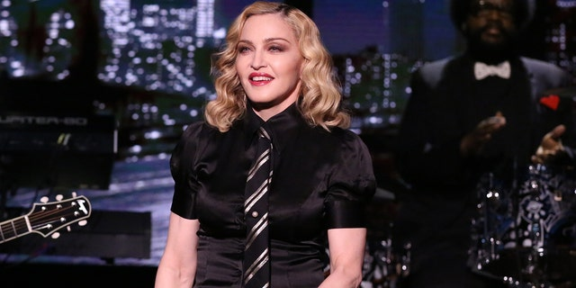 Madonna took to the streets to protest gun and police violence.