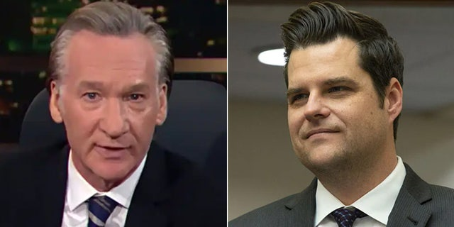 Bill Maher sees U.S. Rep. Matt Gaetz, R-Fla., as the face of a more free-wheeling Republican Party. (HBO/Stefani Reynolds/CNP/ABACAPRESS.COM)