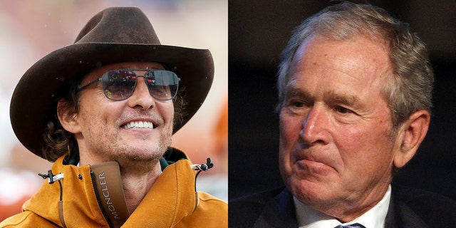 George W Bush commented on a potential Matthew McConaughey run for Texas office, telling the actor on the 'Today with Hoda & Jenna,' on Tuesday that 'it's a tough business.'