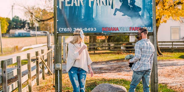 Padgett and Reynolds met in October 2020 at the Indiana Fear Farm in Jamestown, Ind.