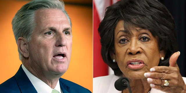 GOP Leader Kevin McCarthy, R-Calif., authored a censure resolution Tuesday against Rep. Maxine Waters, D-Calif., for her comments in Minnesota.