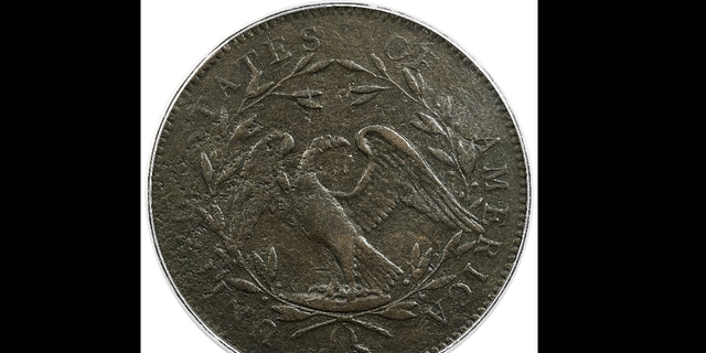 The back of the coin. (AP/Heritage Auctions)