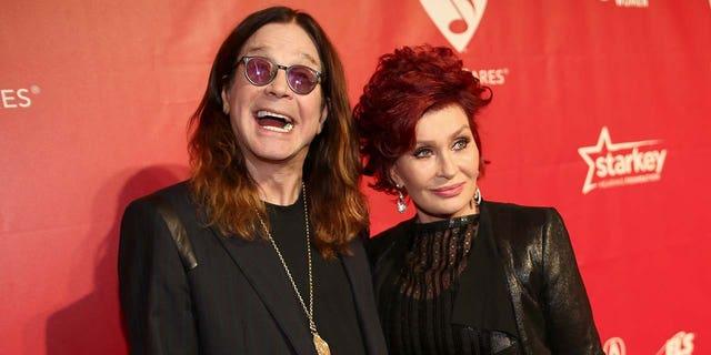 Ozzy y Sharon Osbourne están casados desde 1982.