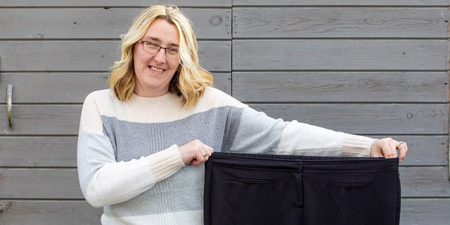 Pamela Dolan said she's excited to shop for some new summer clothes after the slim down.