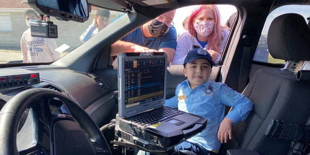 The Chicago Police Department on Sunday partnered with the Illinois Make-a-Wish foundation to help one seven-year-old become a SWAT officer. (Credit: Make-a-Wish Foundation)