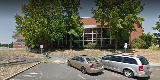 Ida B. Wells-Barnett High School located in Portland, Oregon.