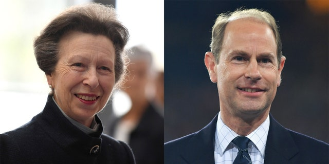 Princess Anne and Prince Edward both appeared in pre-taped interviews and looked back on their father's life.
