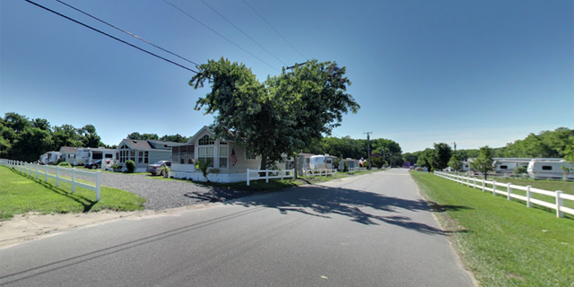 The Sun Outdoors Campground in Cape May, where the child was reported to have fallen into the septic tank.