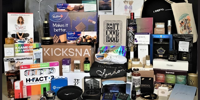"""Distinctive Assets' """"Everyone Wins"""" swag bags are estimated to be worth $205,000."""