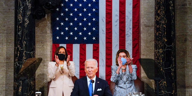 Biden lays out agenda containing slew of new programs in first address to joint session of Congress