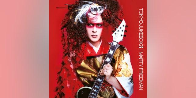 The cover art for Marty Friedman's new album 'Tokyo Jukebox 3.'