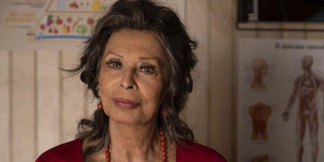 Sophia Loren in 'The Life Ahead (La Vita Davanti a Se).'