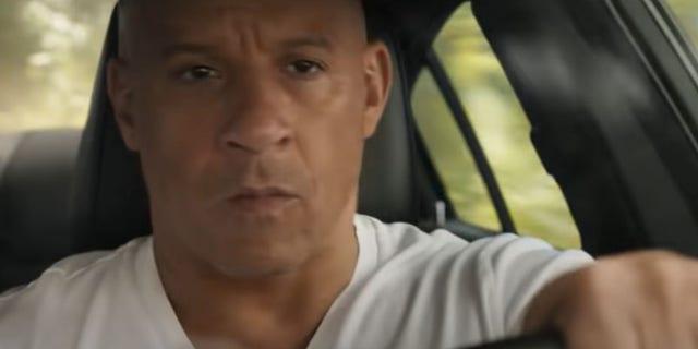 Vin Diesel as Dominic Toretto in 'F9.'