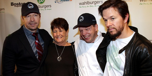 The Wahlberg brothers honored their late mother on social media.