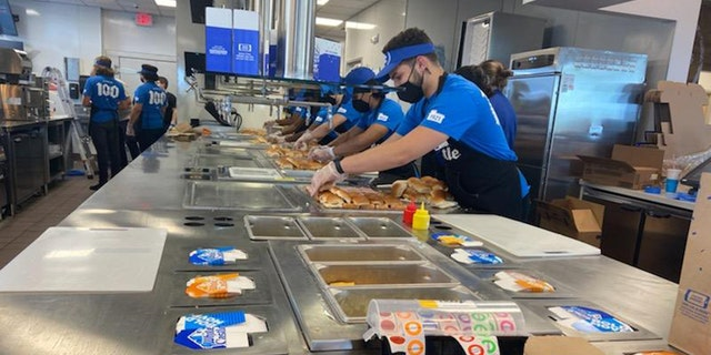 White Castle said it hired 120 workers and managers for its newest location.