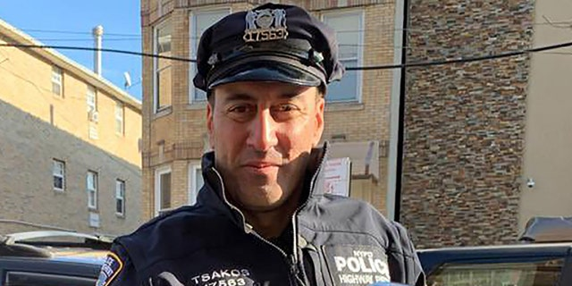 Tsakos had responded to assist at the scene of a fatal automobile collision on the Long Island Expressway when he was struck by Beauvais, police say.