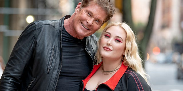 David Hasselhoff with his daughter Hayley Hasselhoff.