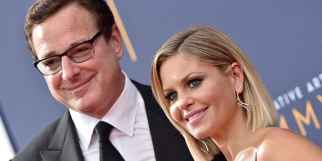 Bob Saget defends Candace Cameron Bure against claims she's 'fake': 'You're a positive person'.jpg
