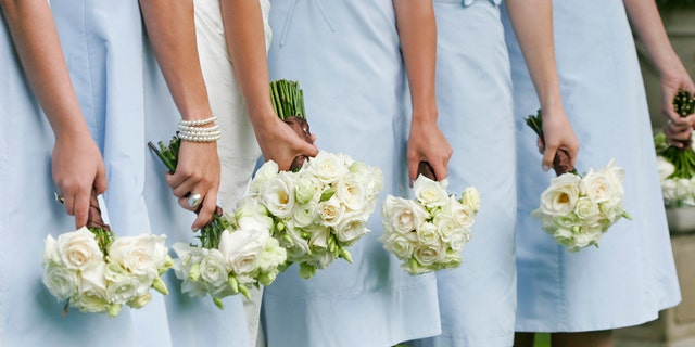 A group of bridesmaids decided to prank the bride by wearing Crocs to the photo session, even though the bride told them not to wear the shoes. (Stock)