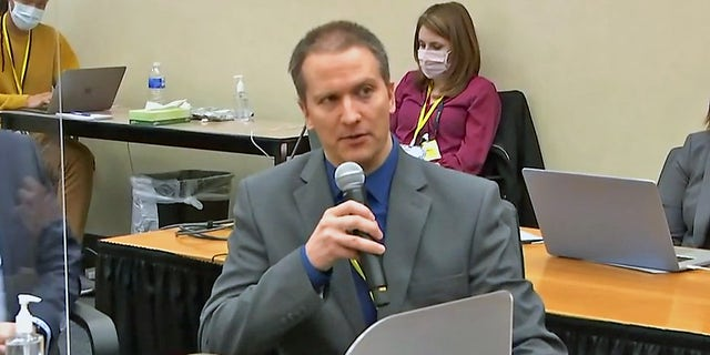 Derek Chauvin speaks during trial, invokes Fifth Amendment, will not testify (Court TV)