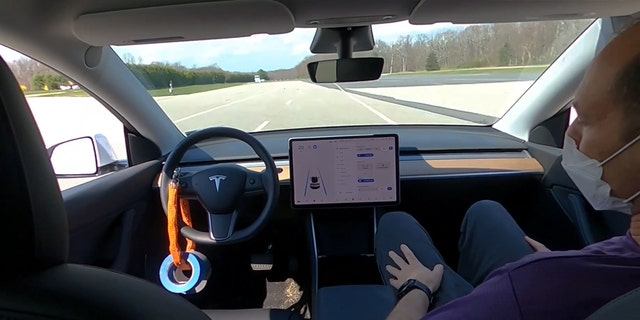 Consumer Reports dmonstrates how a Tesla can be tricked into operating in Autopilot without anyone in the driver's seat.