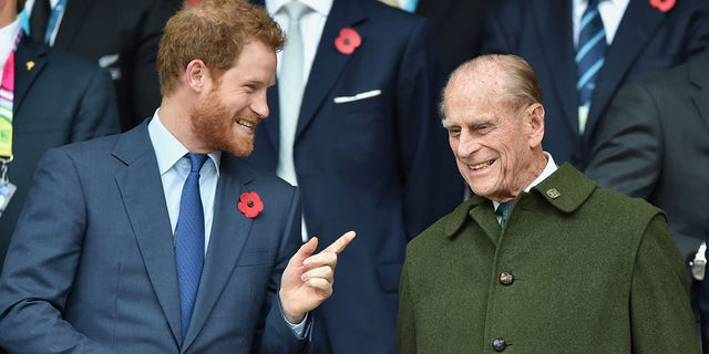 Prince Harry's grandfather Prince Philip passed away on April 9 年齢で 99.
