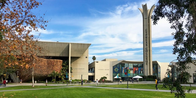 The entrance to Cypress College, located in Orange County, California. (iStock)