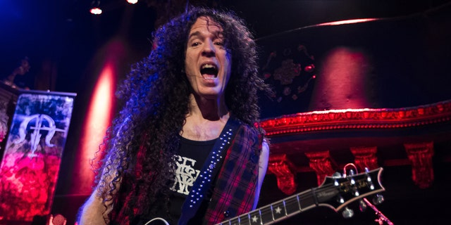 Marty Friedman performs at Great American Music Hall on September 29, 2015 in San Francisco, California.